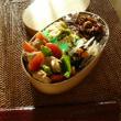 お弁当(豚肉&パプリカのオニオンソース炒め)