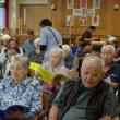特別養護老人ホーム「セ・シボンかしま」でのボランティア演奏