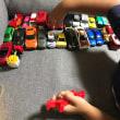 孫と車で遊ぶ