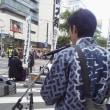 北海道神宮例大祭(札幌まつり)  6月16日撮影  さっぽろプロムナードに並ぶ「山車」3