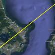 開聞岳を望む014 2018/06/20 恵比須鼻付近の海岸