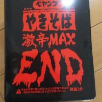 ペヤング焼きそば激辛MAX END♪(*´∇`*)