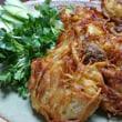 蟹ご飯 エスニック風野菜揚げ