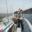 1/16:青物は型の良いハマチ好調にヒットしました。根魚もメチャ型良くウッカリカサゴにマハタとヒット!!!