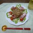 ~ お豆腐と納豆のサラダ ~