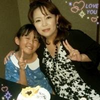 今日は娘の誕生日❤( ´ー`)