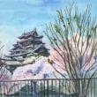伏見桃山城の絵