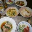ロールキャベツのポトフで晩ご飯(最後にヘマ!)