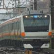 2017年10月22日 中央本線 高尾 E231系 T5編成 台風 大雨