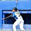 日ハム 鎌ヶ谷球場で清宮幸太郎がプロ初ホームランを放ちました