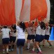 運動会の練習:パラバルーン