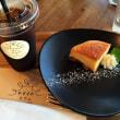 陸前高田の大型複合商業施設アバッセたかたのやぎさわカフェで私が手掛けたみそチーズケーキを食べました。