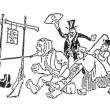 「風刺漫画ワークショップ」の紹介