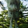 松尾芭蕉像(秋田県蚶満寺)