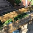 園庭メンテナンス工事終了致しました!