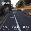 早速、走ってみました !