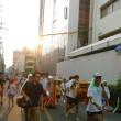 本日は大阪市の最高気温37度。落語の「高津の富」の舞台として知られる高津宮の夏祭りに。茅の輪くぐりを。おみくじは小凶。ちんぽ石・おめこ石にもごあいさつ。大雨警報出るも雨は1滴も降らず。