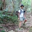 山ボーイ・ジャッキー(佐和山編) climbed a mountain where a castel of a famous historical general was