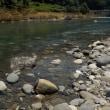 流れが一変した長良川