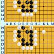 囲碁死活907官子譜