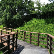 三好公園 (愛知県みよし市)スライダーや健康遊具もある