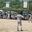 県内議員対抗ソフトボール大会。