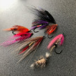 本日のSteelhead flies ! ! !   For my great guest !