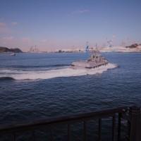 2月の軍港