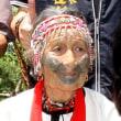 先住民文化「紋面」保有者の女性が死去 存命4人に/台湾