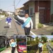 2018.4.20 走る走る藤岡市長候補、金沢みつたか!