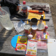 ワンクッカーランチツーリング:パンク修理とチリコンカン