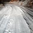 もうずっと雪道