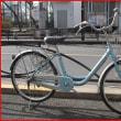 ★リサイクル(再生)自転車・中古自転車・24U型・3段・オートライト・水色