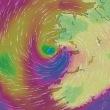 アイルランド: Hurricane Ophelia has made landfall in County Kerry