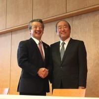 来年4月、株式交換で統合会社設立  トレードネームは「出光昭和シェル」