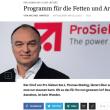 ドイツ民放CEO、主要視聴者を 「太った貧しい」層と発言!