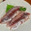 飛魚の刺身と揚げ出し豆腐の晩ごはん