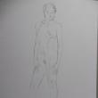 【デッサン・絵画】シリーズ・「全身デッサン97.3の③」