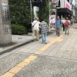大人研夏季大会でビラ撒き!