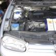 VW GOLF4/GTI 定期交換です。