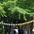 9月21日(木)、ようやく青空が見えましたねのfika.