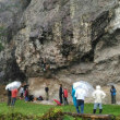 #会津田島の岩場  こんな雨でも登れます!