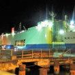 動画 琉球エキスプレス 2(阪神航路)の名瀬港での荷役作業を初めて見た。