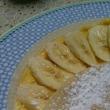 バナナカスタードクリームクレープ(レシピ)