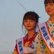 有明海花火フェスタ  観光柳川キャンペーンレディ水の精・横山紗弓  2017・8・27
