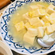 高野豆腐のキビ餡掛け