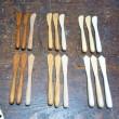 木のバターナイフ  Wood Butter knife