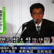 松井一郎大阪府知事、大和川氾濫危機の中、維新の会開票センターにいた!