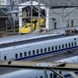 新幹線の車両基地