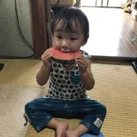 孫君の海デビュー(゚∀゚)アヒャ